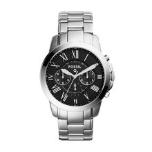 Fossil Q FTW10033 q grant silver br watch