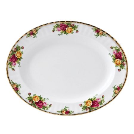 Royal Albert Old Country Roses Large Oval Dish