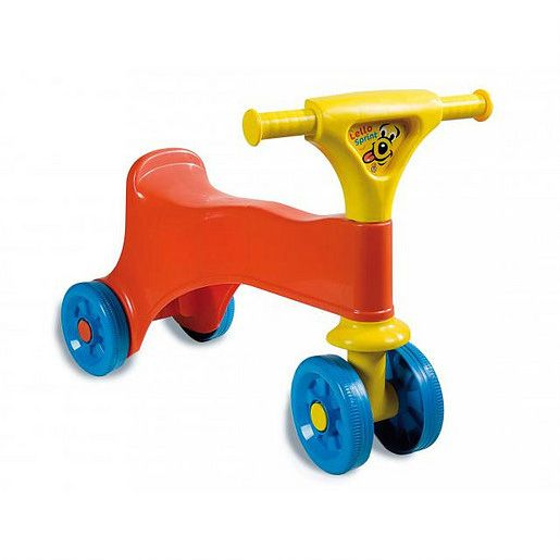 Ride-on red