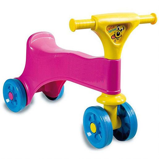 Ride-on pink