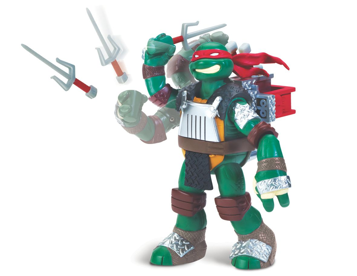 Turtles Raphael fingers figure