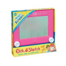 Flair Pink Etch A Sketch