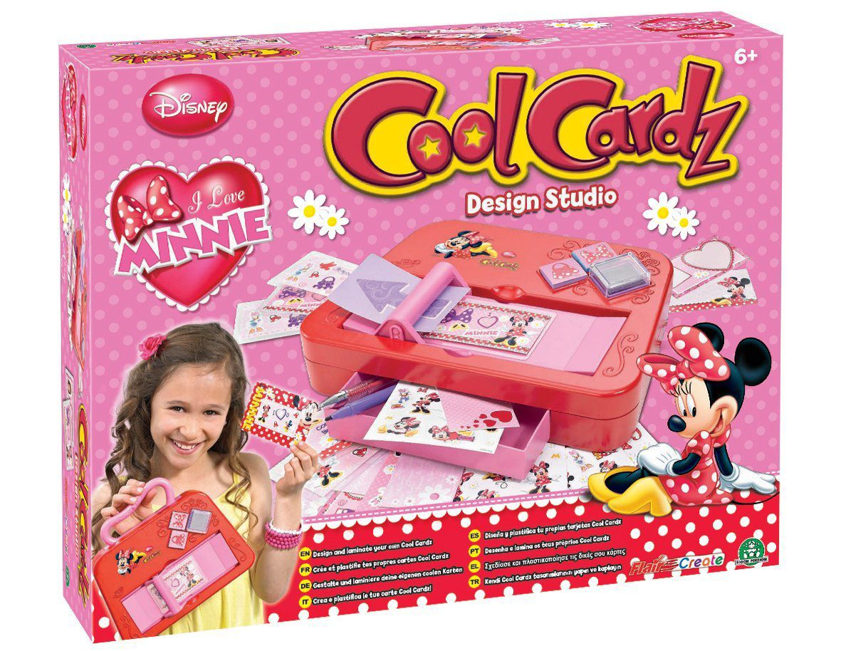 Cool Cardz Minnie Mouse Design Studio