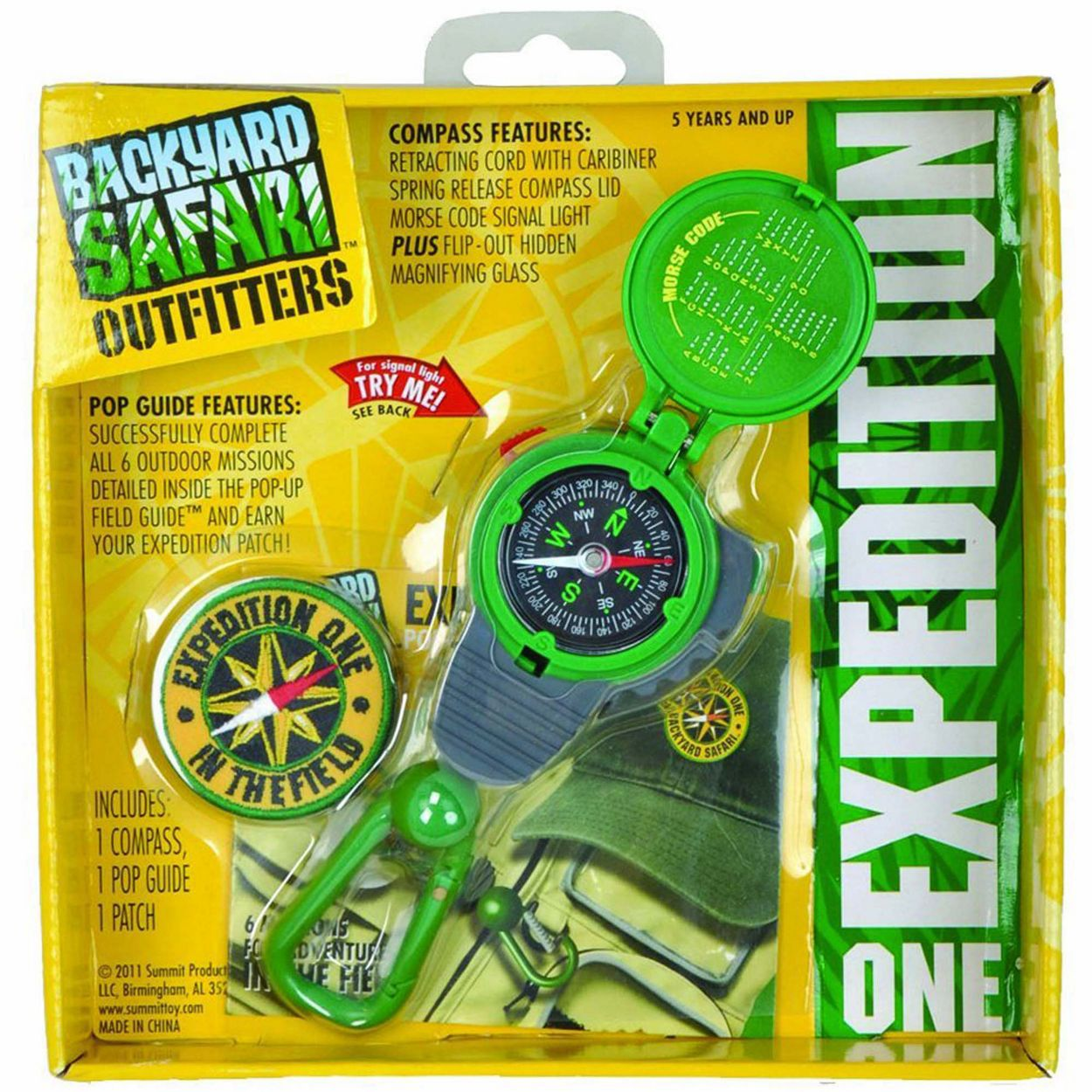 Backyard Safari 3 in 1 Compass