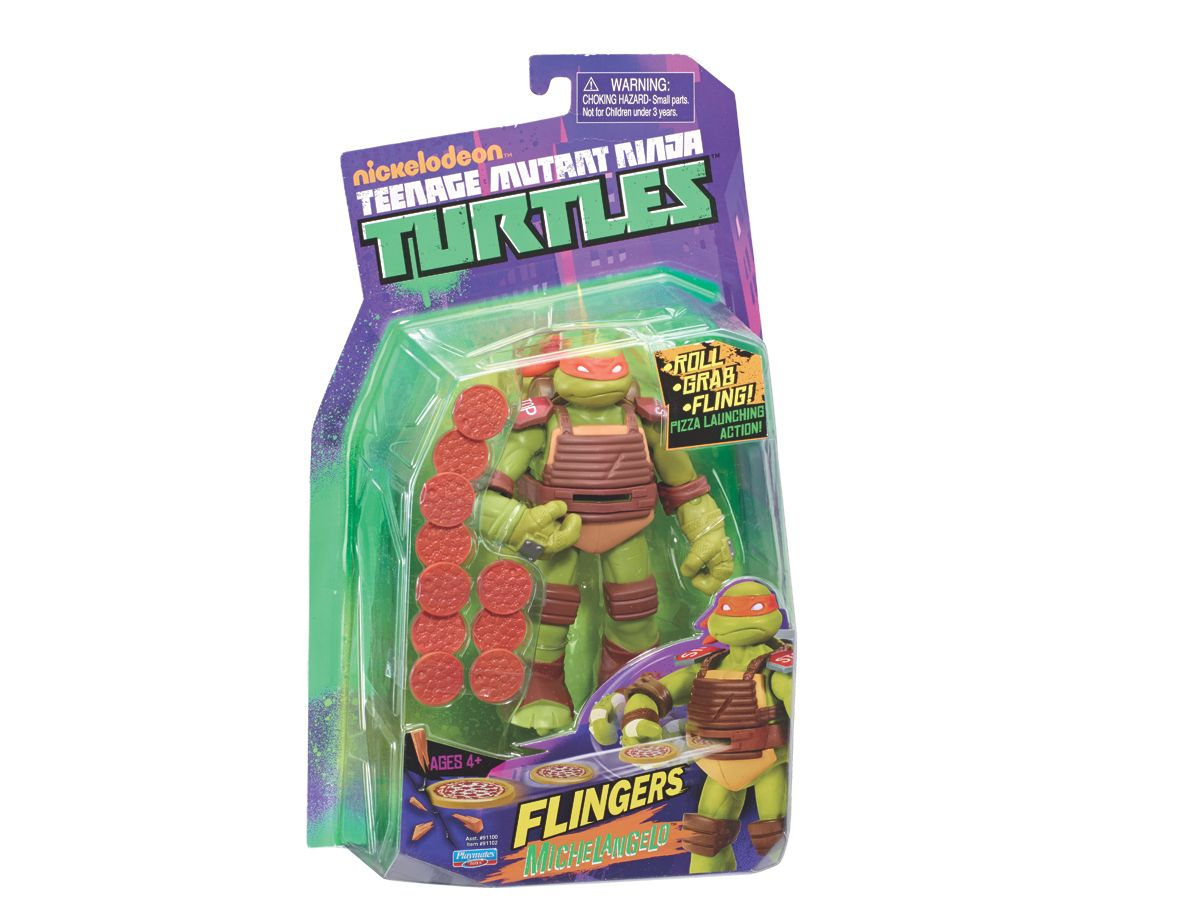 Turtles Michelangelo flingers figure