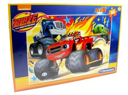 Blaze and the Monster Machines Maxi Puzzle - 30 Pieces