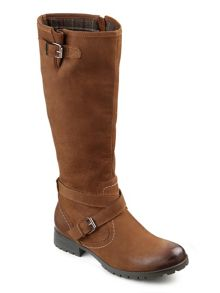 Hotter Ladies adjustable calf fitting boot