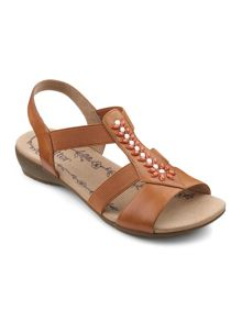 Hotter Montserrat slip on stretch fit sandal