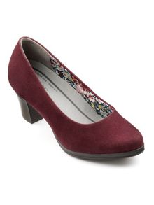 Hotter Angelica ladies dual fit court shoe