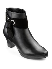 Hotter Anastasia ladies heeled ankle boot