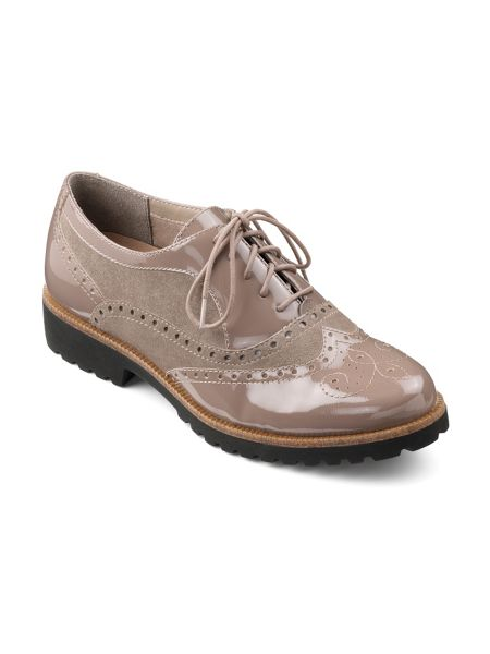 Hotter Stevie dual fit brogues