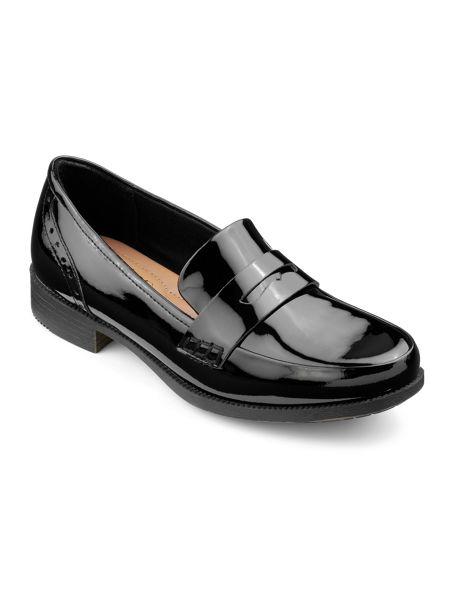 Hotter Crimdon ladies slip on loafer shoe