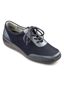 Hotter Paige ladies lace up lightweight shoe