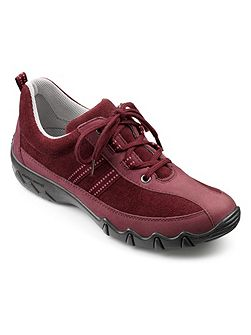 Leanne ladies lightweight lace up shoe