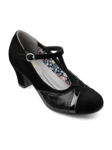 Hotter Georgette ladies stylish t bar heel