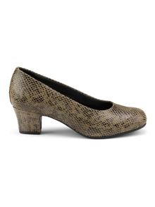 Hotter Olwyn ladies dual fit court shoe