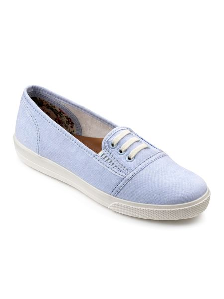 Hotter Essmy comfort ladies canvas pumps