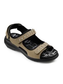 Hotter Scarlet ladies touch close sandal