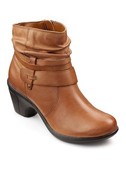 Danville ladies leather ankle boot