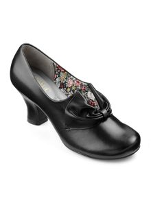 Hotter Ladies slip on court shoe