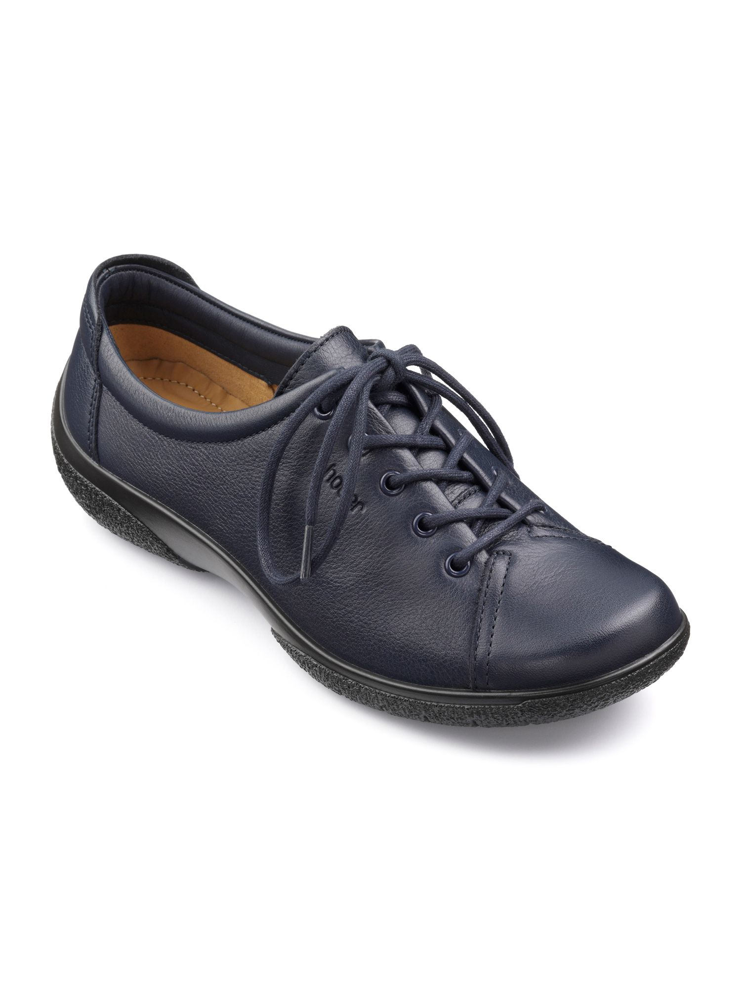 Hotter Dew Original Extra Wide Shoes, French Blue