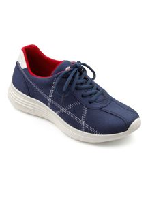 Hotter Solar ladies lace up active shoe