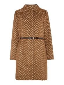 Cornell belted coat
