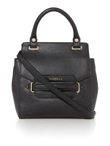 Black medium crossbody handbag
