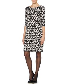 Marella Polis long sleeve floral smock dress