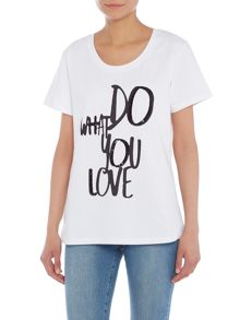 Valletto do what you love t-shirt