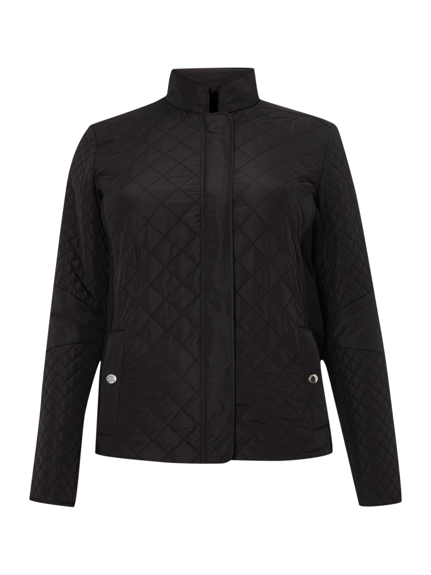 Toast quilted short jacket