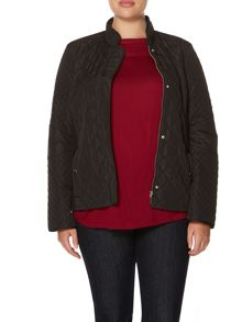 Persona Toast quilted short jacket