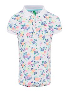 Girls All Over Print Polo