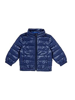 Boys Light weight jacket with pack away bag