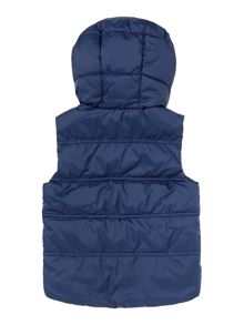 Benetton Boys Quilted gilet