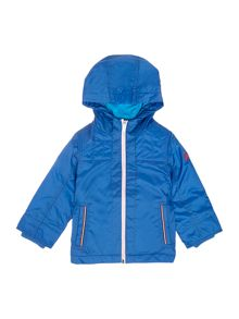 Benetton Boys Padded Hooded Anorak