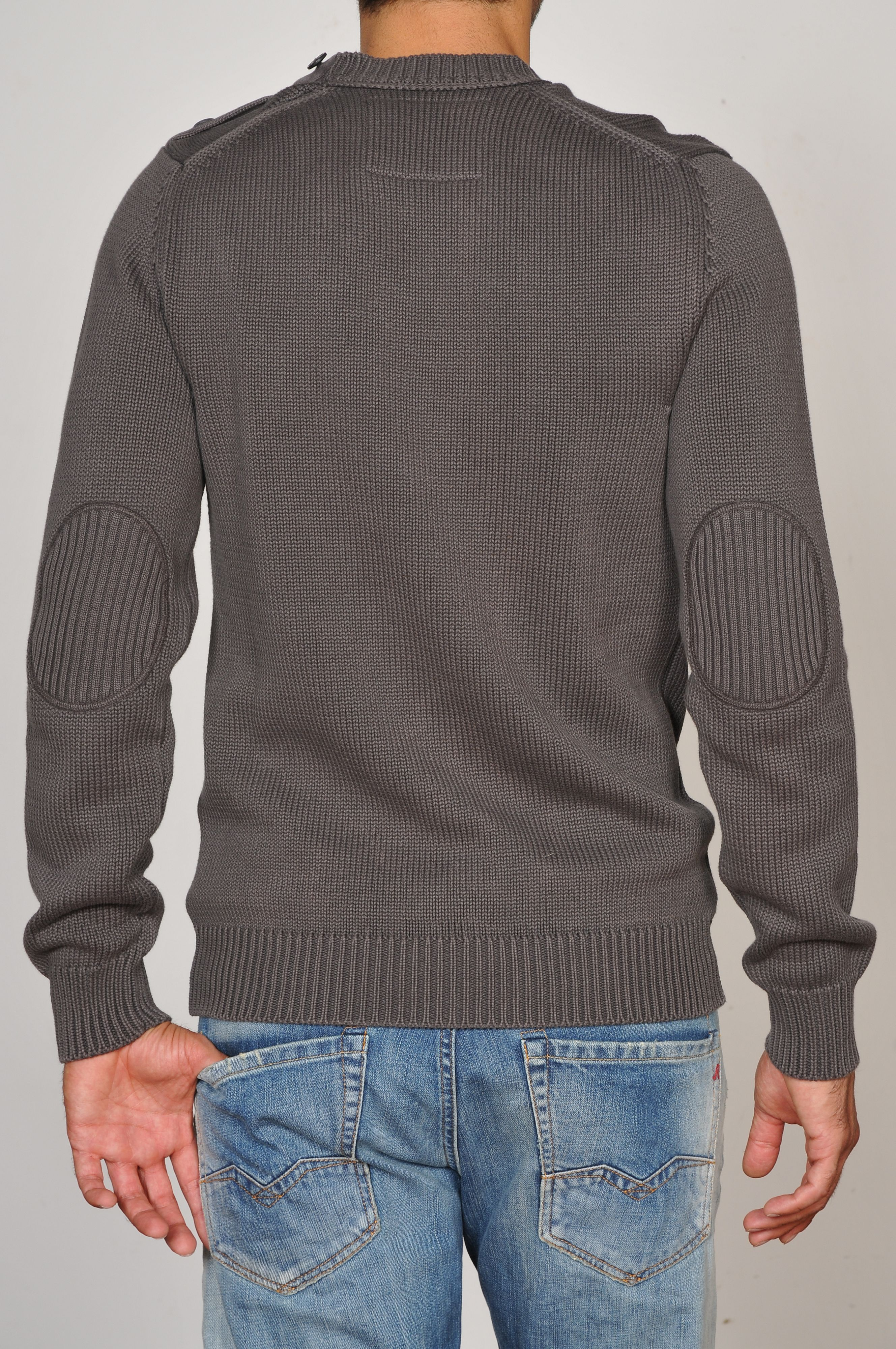 Dyed cotton  pullover