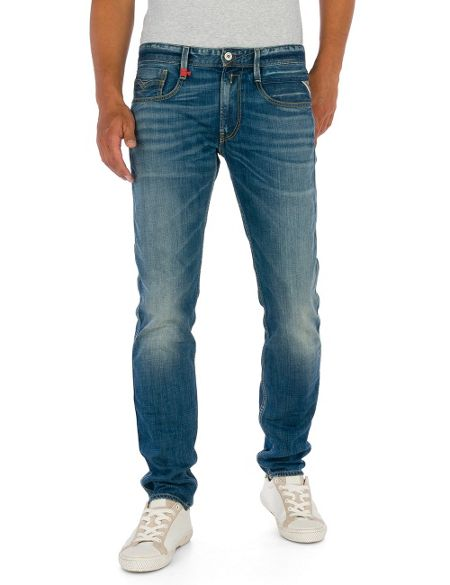 Replay Anbass slim fit denim jeans