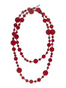 Max Mara Dovere multi circle necklace