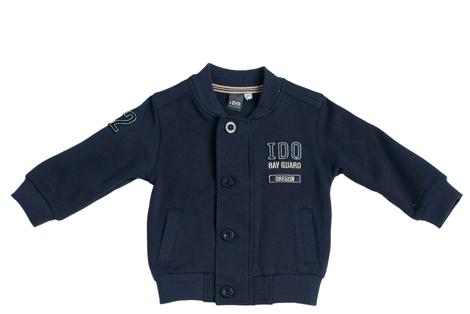 Boy`s fleece embroidered jacket