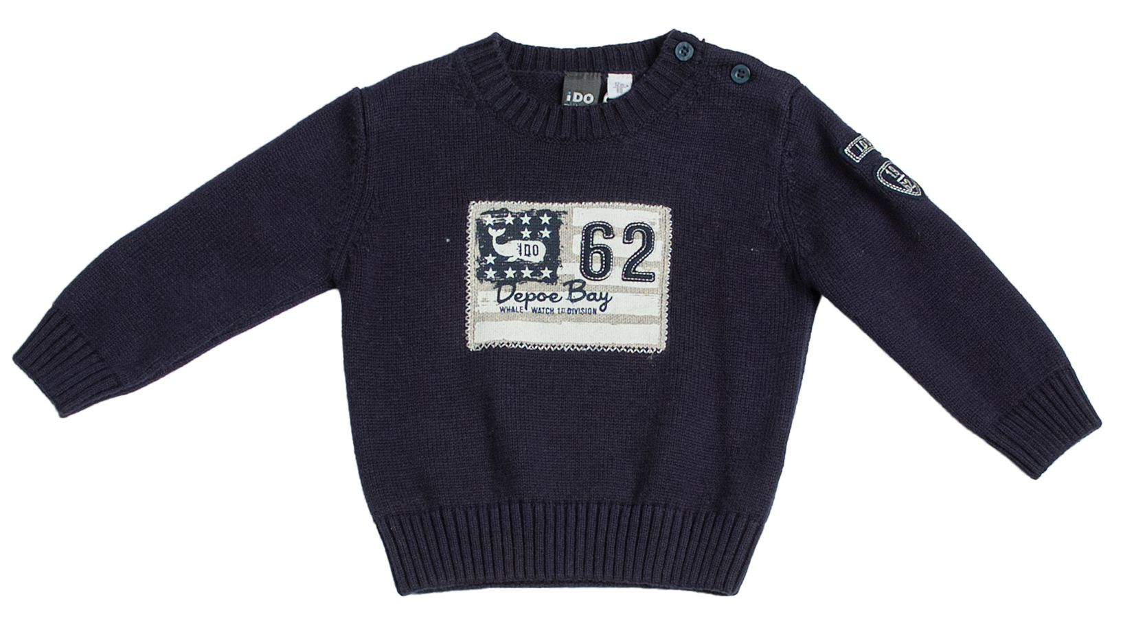 Boy`s Knitwear marine sweater