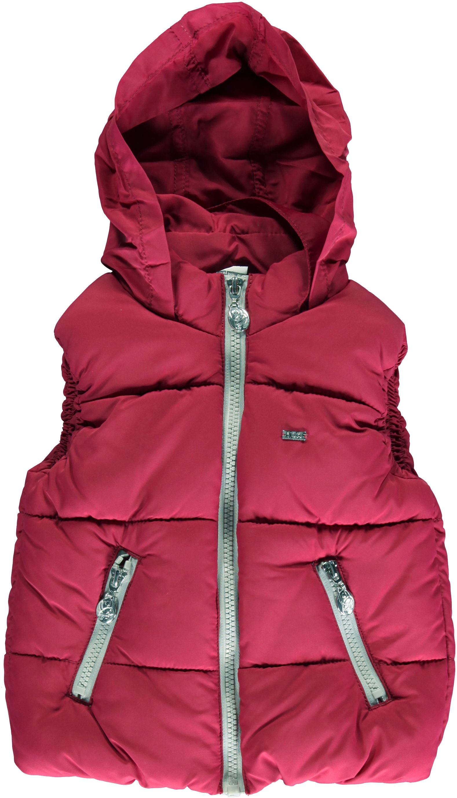 Girl`s hooded vest