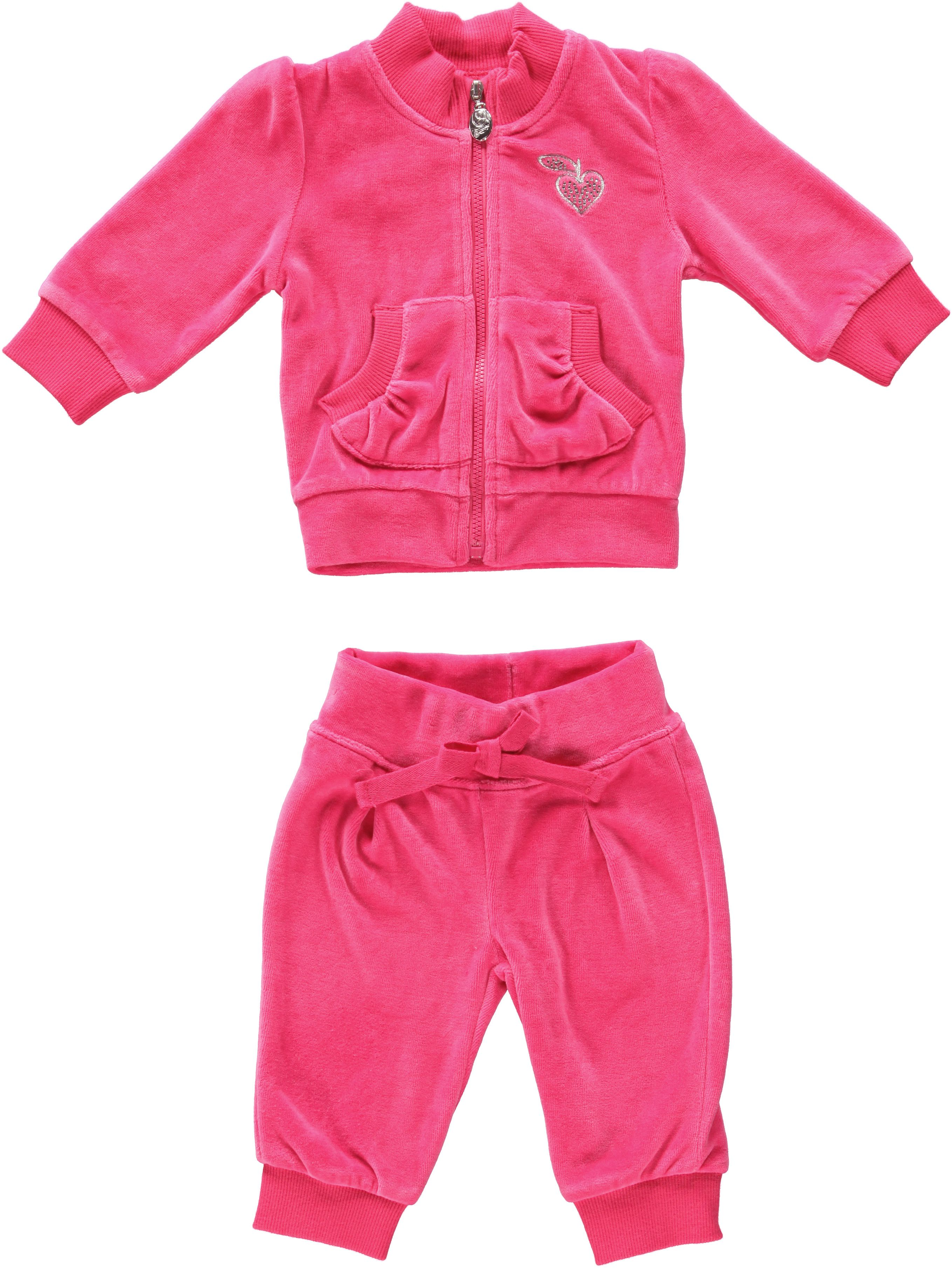 Girl`s chenille two piece set