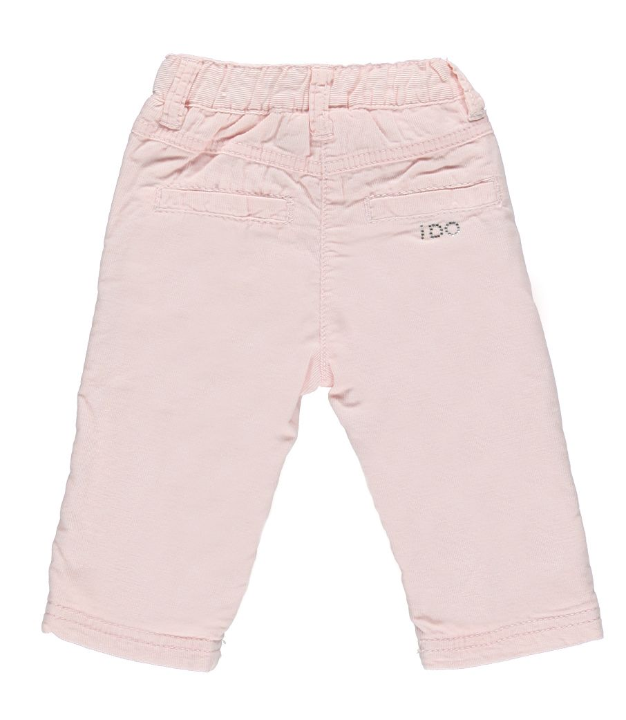 Girl`s corduroy front pocket trouser