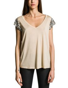 Micromodal V-Neck T-Shirt