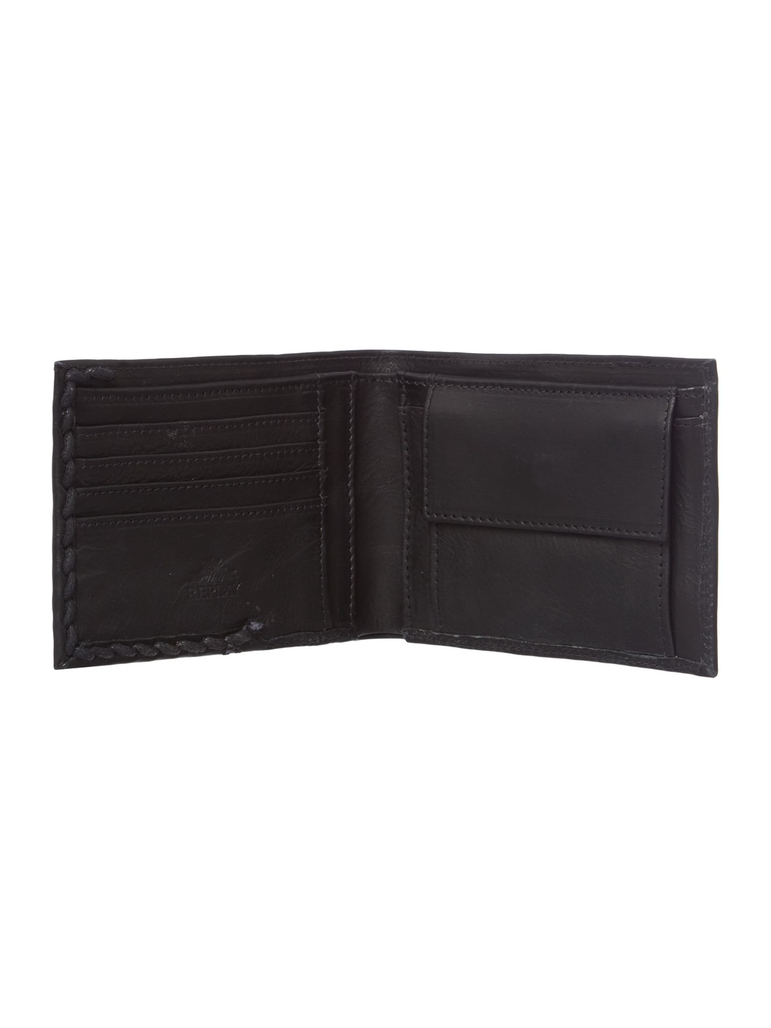 100% leather wallet