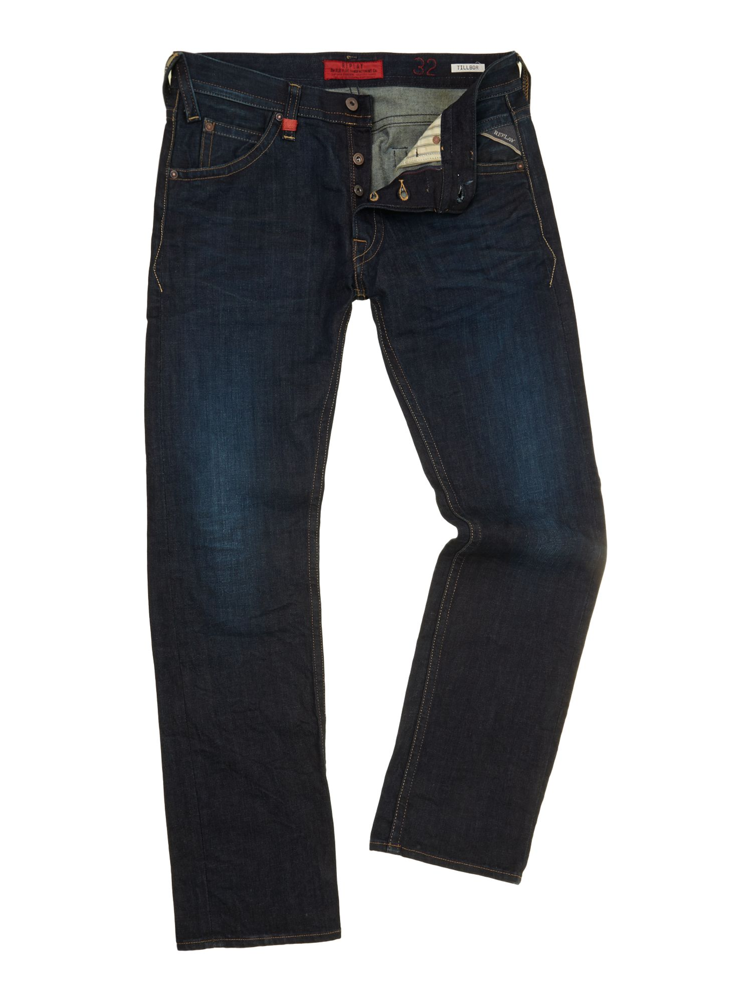 Tillbor denim jeans, soccer fit