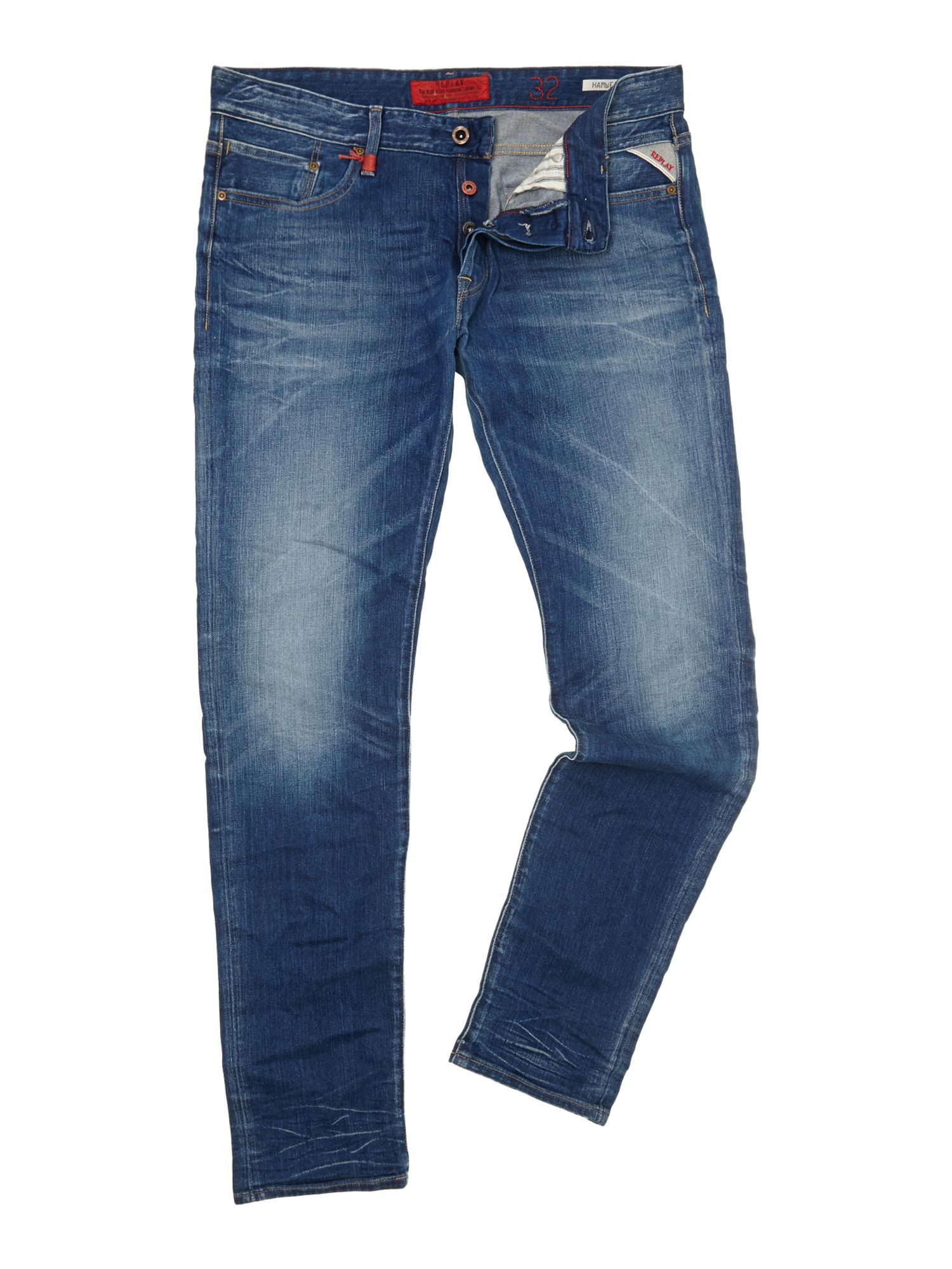 Hamwell denim jeans, tight fit