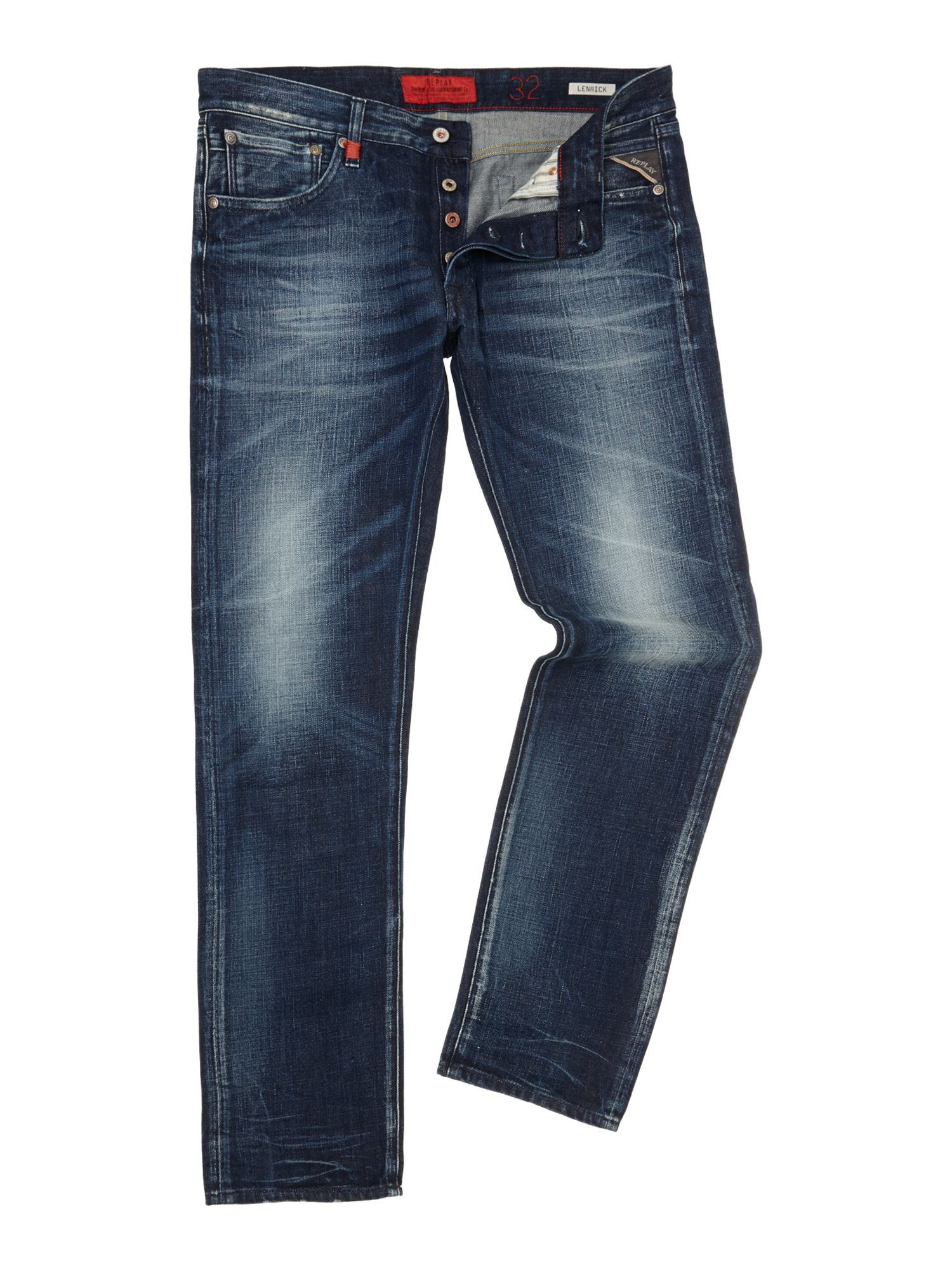 Lenrick denim jeans, regular slim fit
