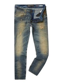 Laserblast Life Anbass slim fit denim jeans